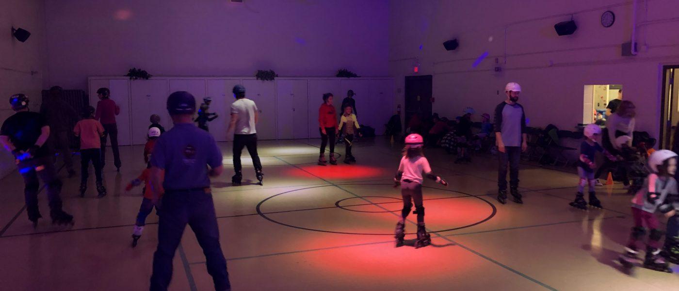 Family Night Skate banner