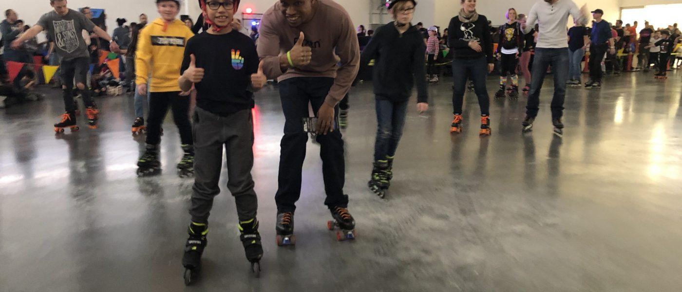 Skate event banner