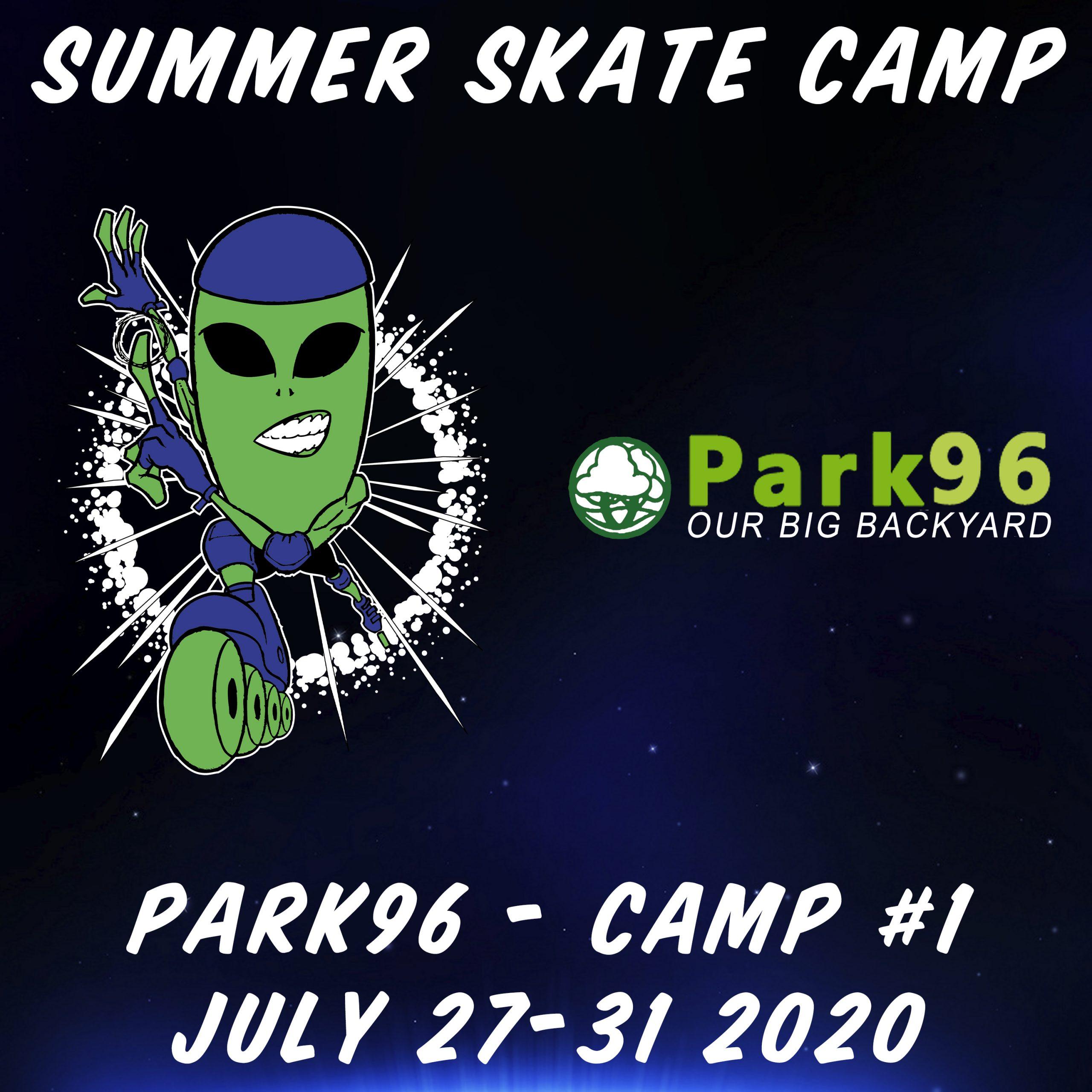 Alien In-Line 2020 SE Summer Skate Camp 1 Poster