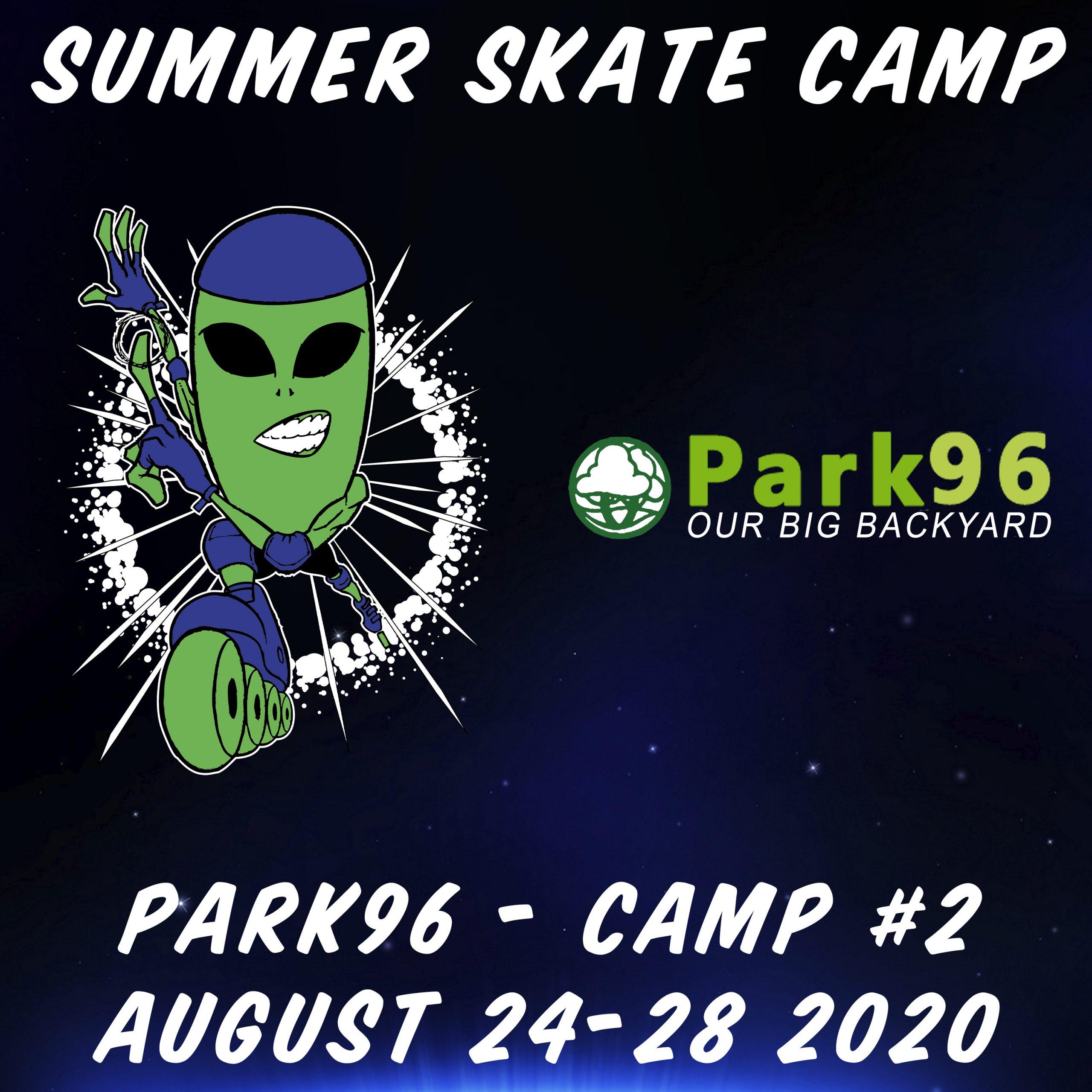Alien In-Line 2020 SE Summer Skate Camp 2 Poster